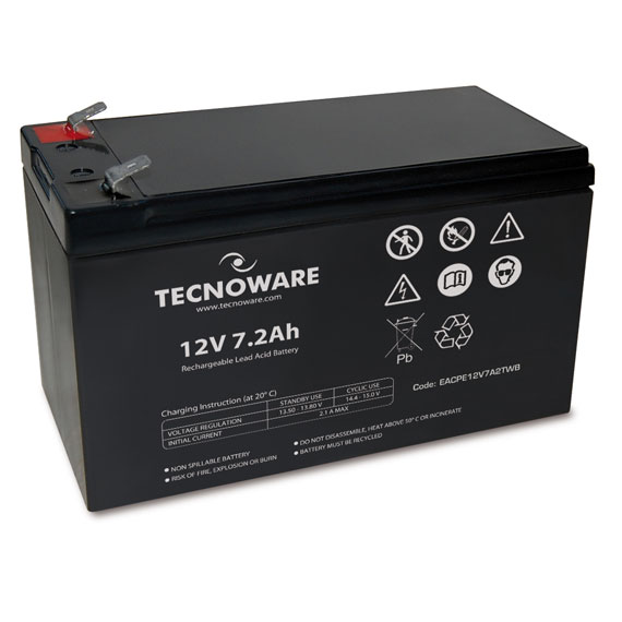 Tecnoware Batteria 12V 7,2AH