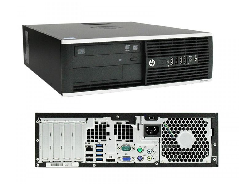 PC HP CORE I3-3220 4GB 240SSD W7P