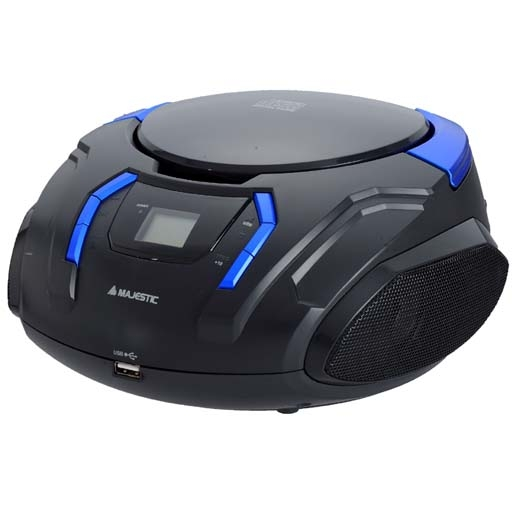 MAJESTIC LETTORE CD/MP3 BOOM BOX AH-225