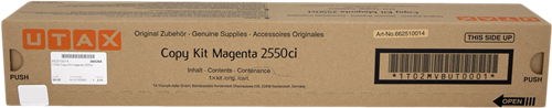 UTAX 2550ci TONER MAGENTA