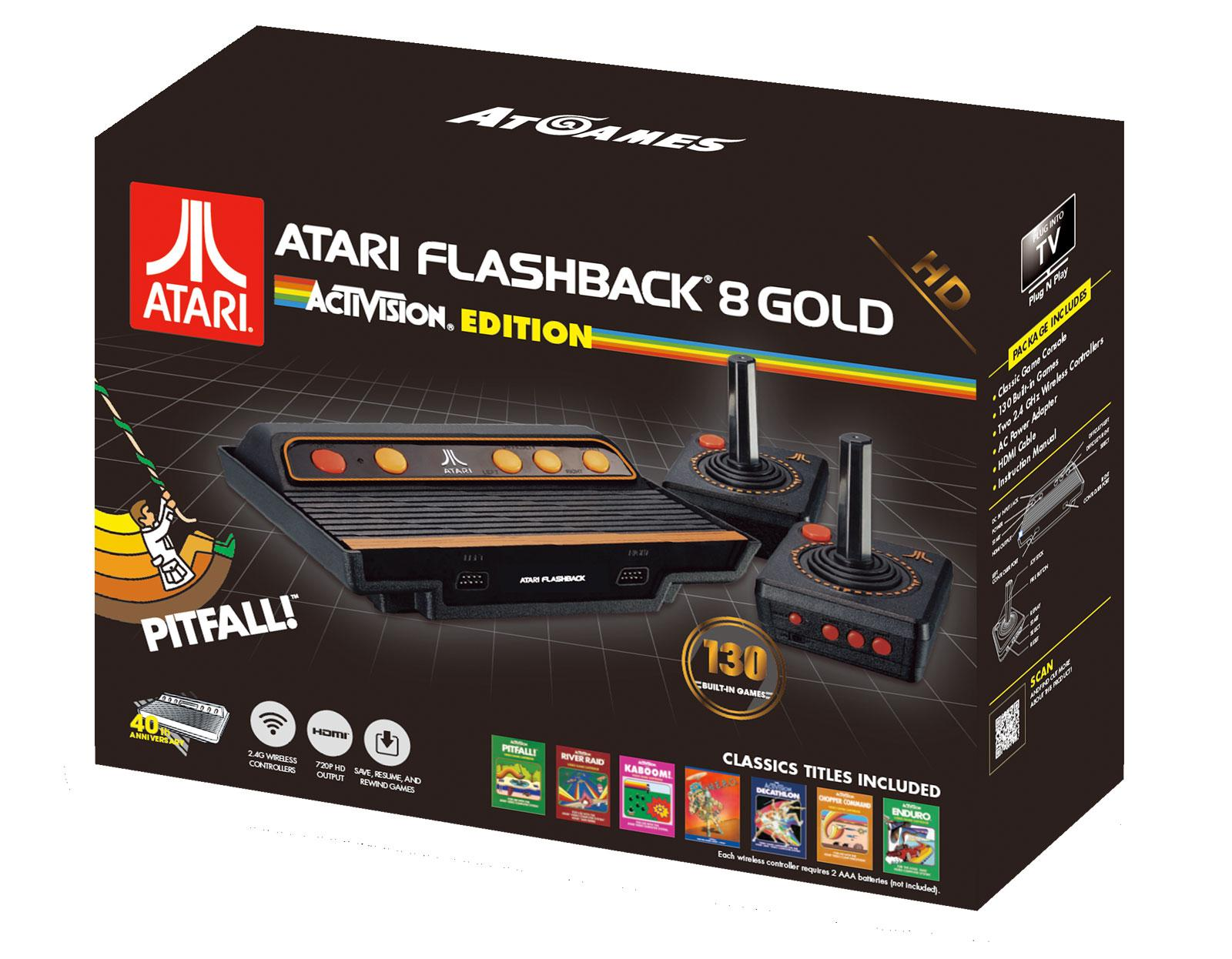 ATARI - RETRO FLASHBACK 8 HD- 130 GAMES