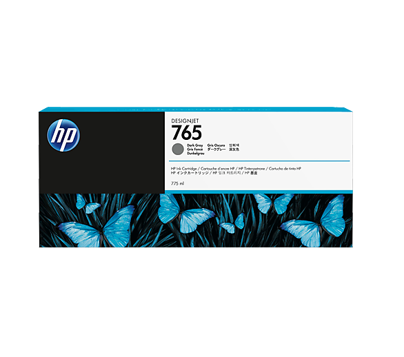 HP F9J54A HP 765 INK JET GRIGIO SCURO []
