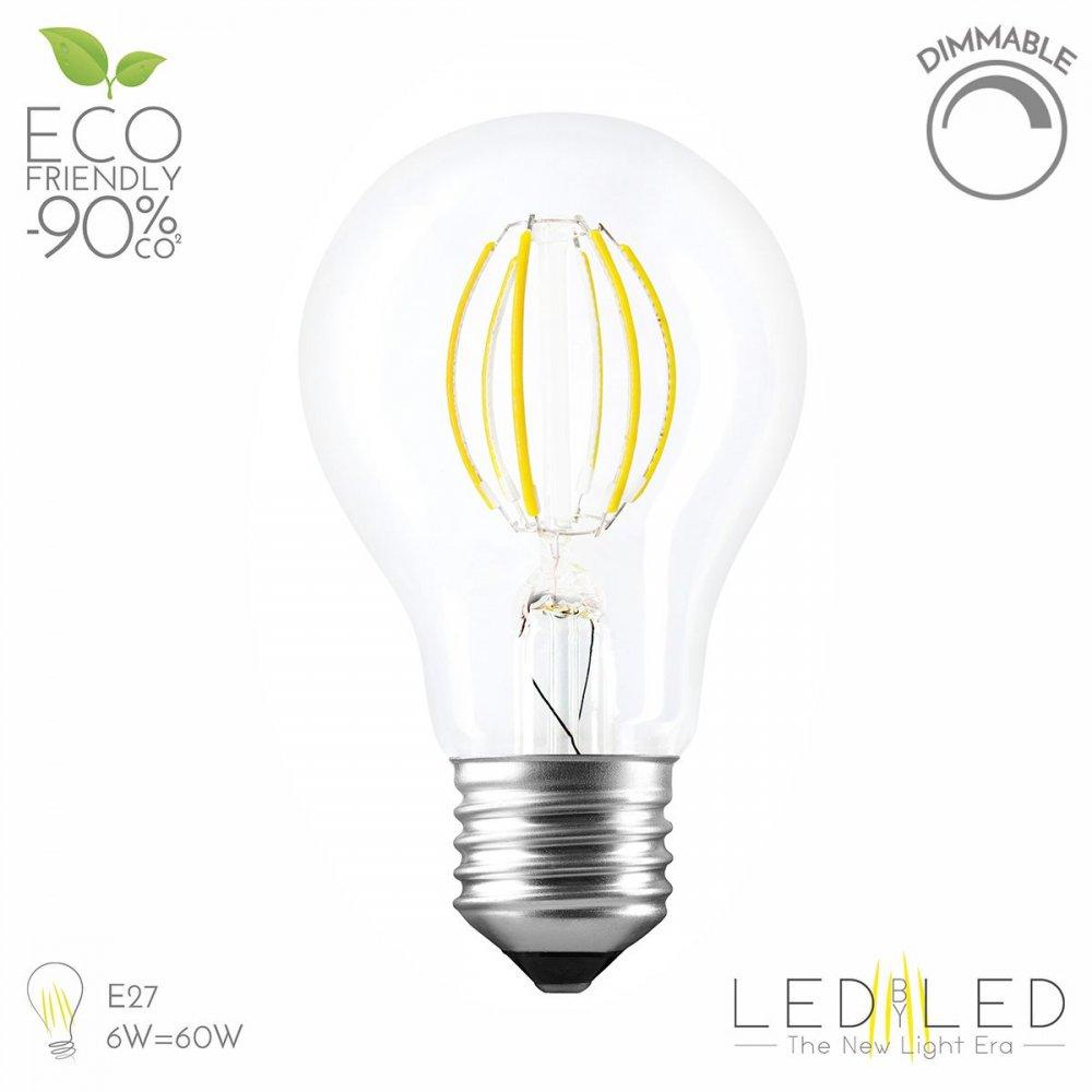 LEDBYLED FILED GOCCIA CLEAR 2700 E27 6W