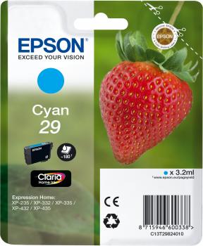 EPSON T29824012 INK CIANO CLARIA