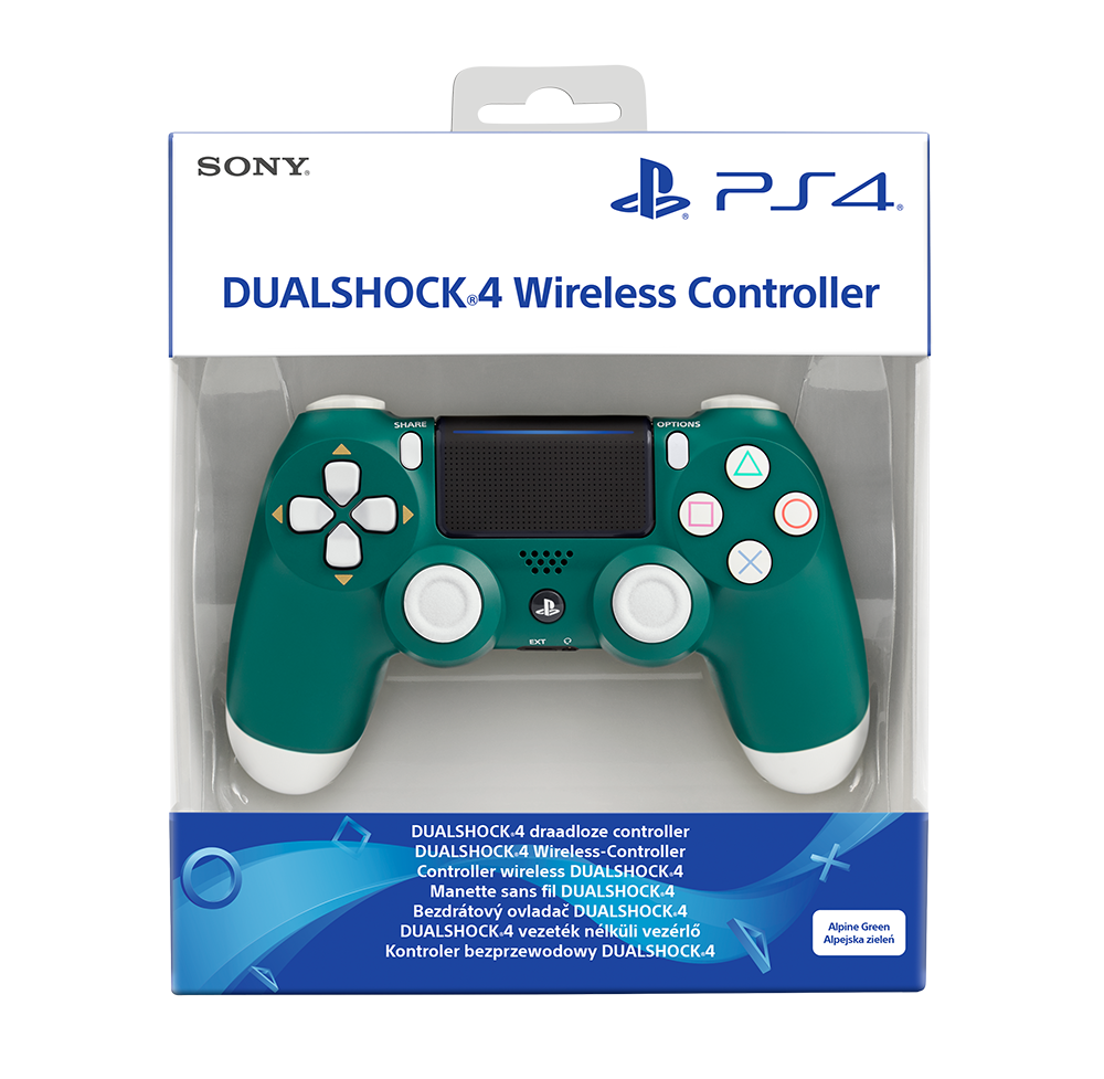 SONY PS4 Dualshock Cont Alpine Green