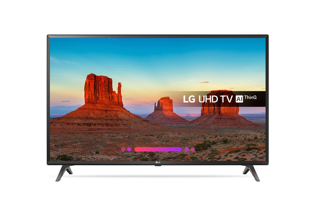 LG TV 49 ULTRAHD 4K SMARTTV 49UK6300