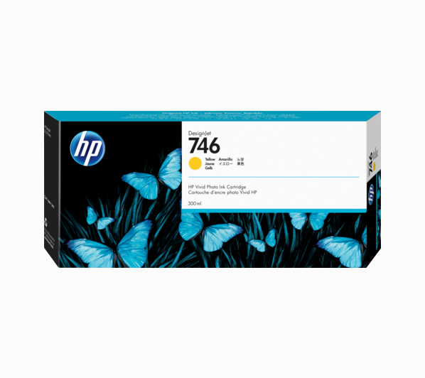 HP P2V79A HP 746 INK JET GIALLO