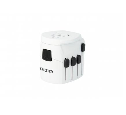Dicota World Adapter Pro+ USB