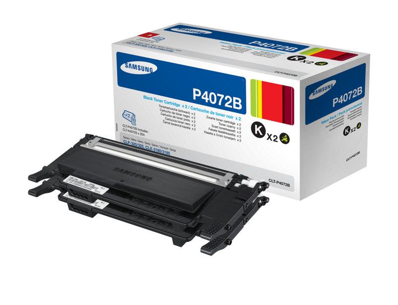 Hp S-printing Toner Nero 2pz Clt-p4072b