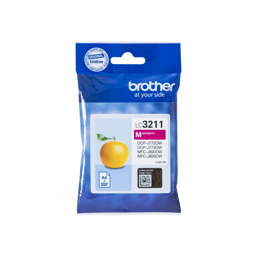 BROTHER LC-3211M INK JET MAGENTA