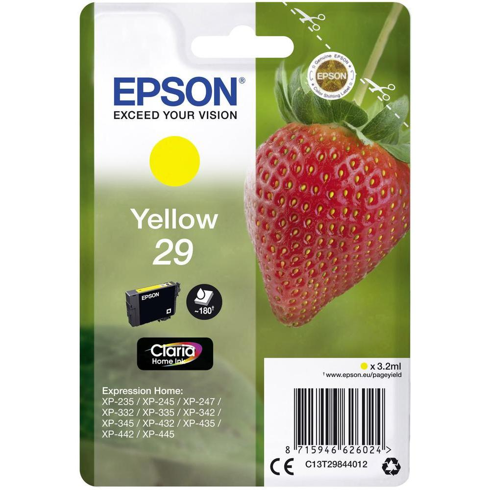 EPSON T29844022 INK GIALLO CLARIA