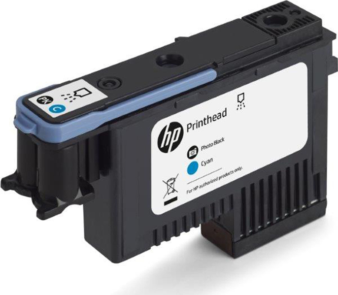HP F9J86A HP 744 INK PHOTO BK & CYANO