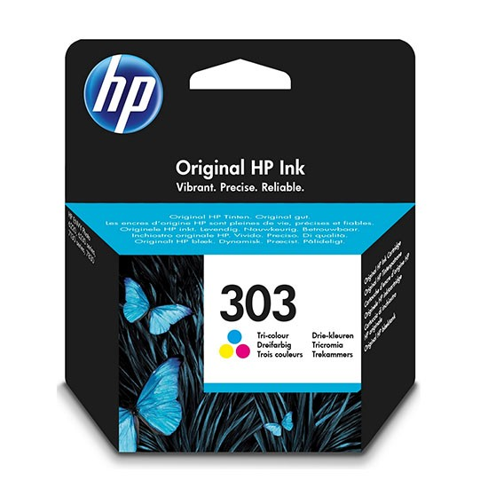 HP T6N01AE 303 INK JET TRICROMIA