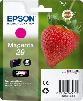 EPSON T29834022 INK MAGENTA CLARIA