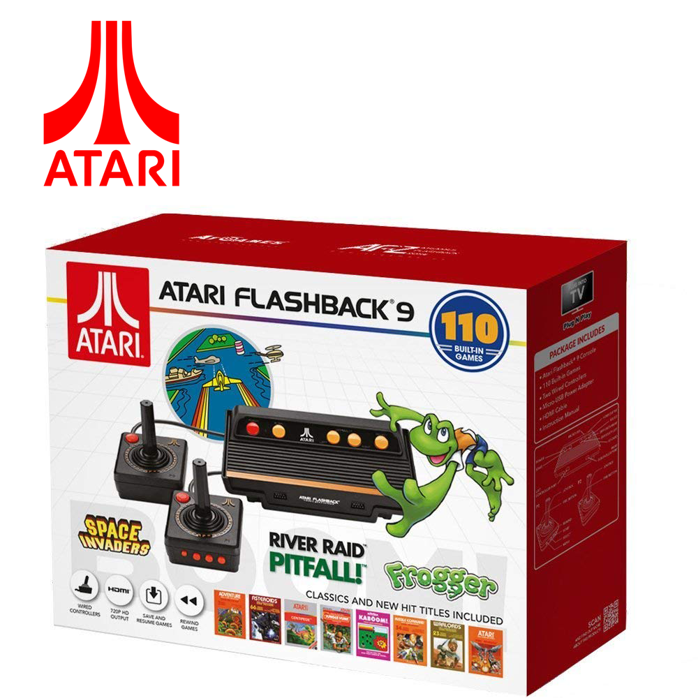 ATARI Flashback 9 BOOM VIDEO GAME CONSOL