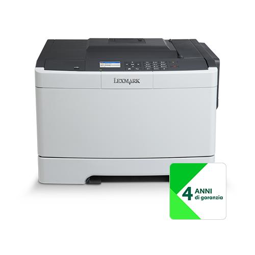 Lexmark Stampante CS417dn con 4Y Onsite