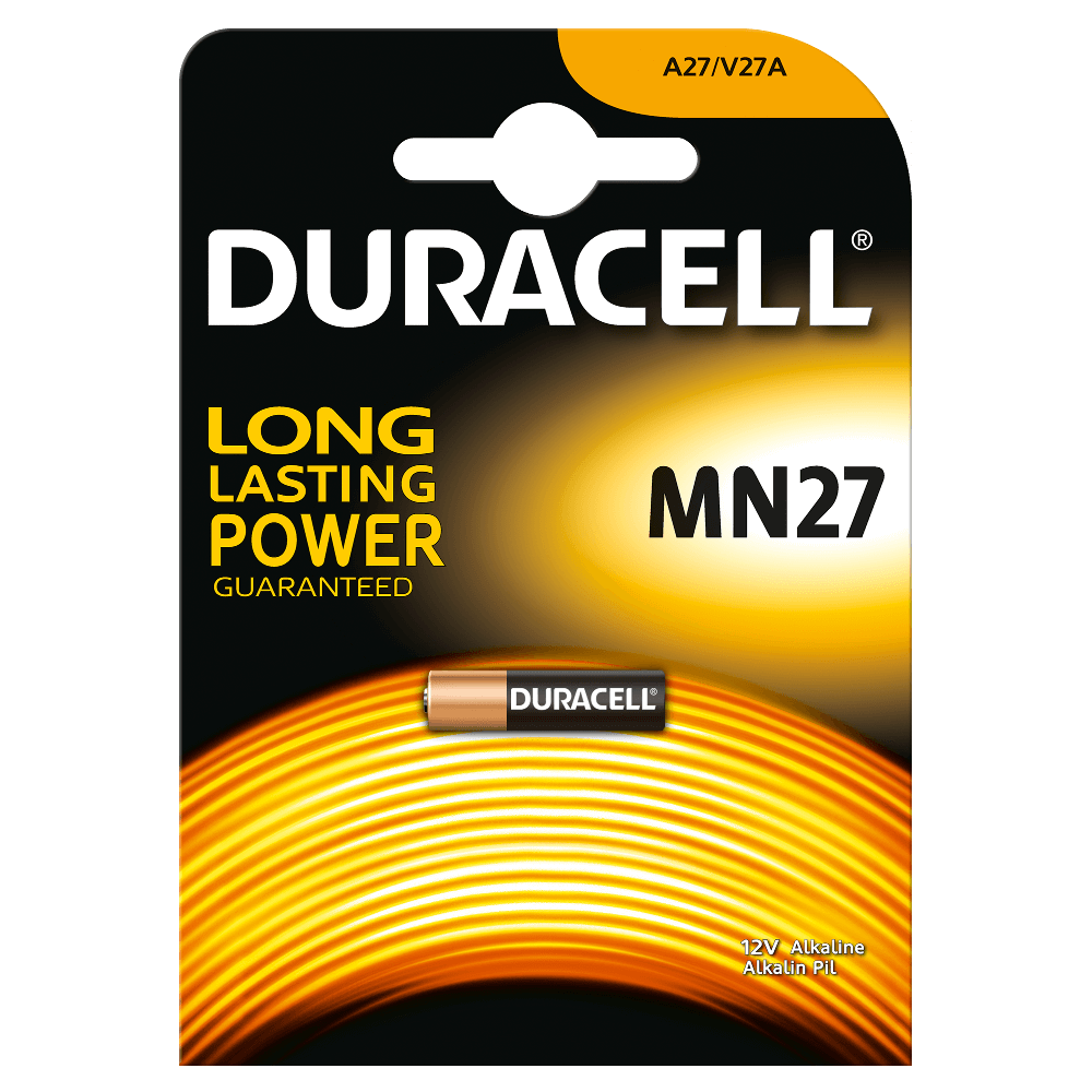 DURACELL MN27 - 12volt - Bl 1Pz