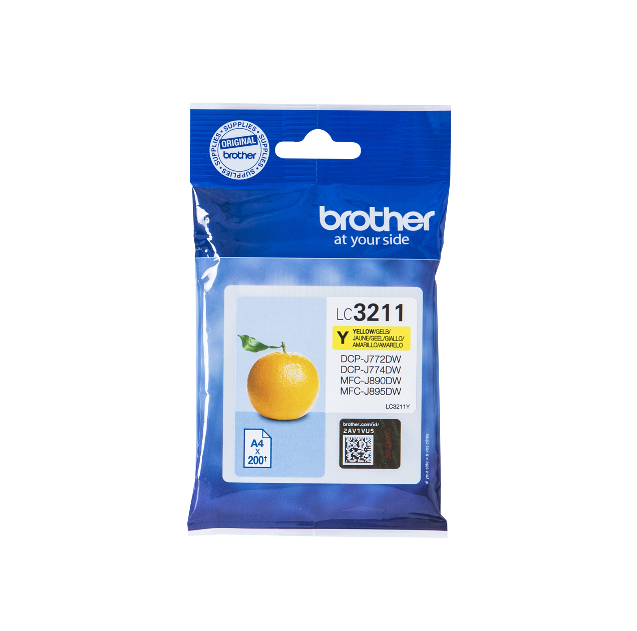 BROTHER LC-3211Y INK JET GIALLO