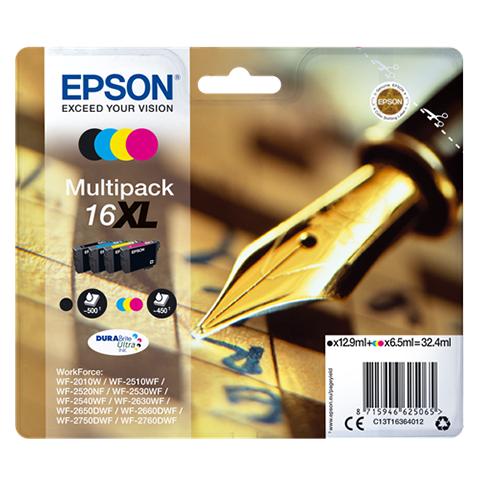 Epson Wf2510 T1636 Multipack Xl
