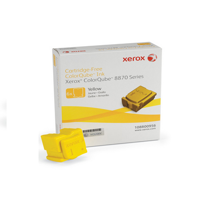 XEROX CQ 8870 SOLID INK GIALLO 6PZ