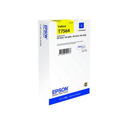 Epson Wf-8000 T7564 Ink Jet Giallo