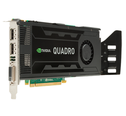 HP Quadro K4000 3072MB