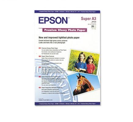 EPSON S041316 CARTA A3+ FOTO LUCIDA*