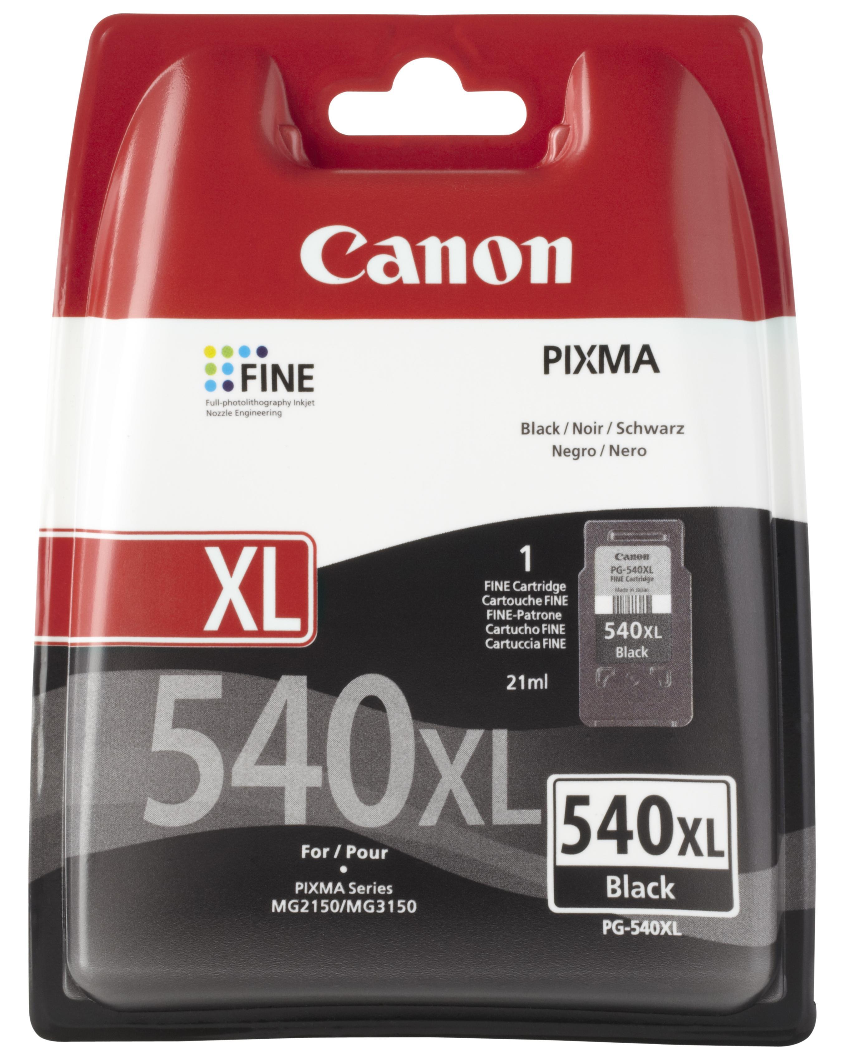 Canon Pg-540 Xl Ink Bk Blis W/o Sec (x)