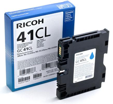 RICOH RHGC41LC 405766 INK GEL CIANO --