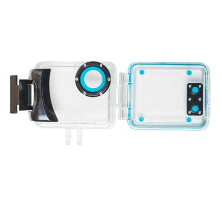 Goclever Custodia subacquea Actioncamera
