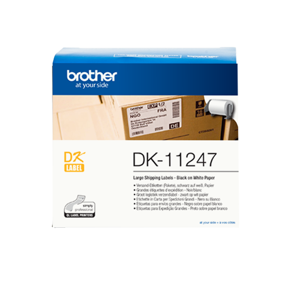 Brother Dk-11247 Etich Adesive 180pz
