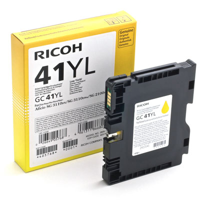 RICOH RHGC41LY 405768 INK GEL G --