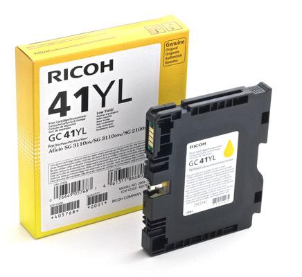 RICOH RHGC41LY 405768 INK GEL G --