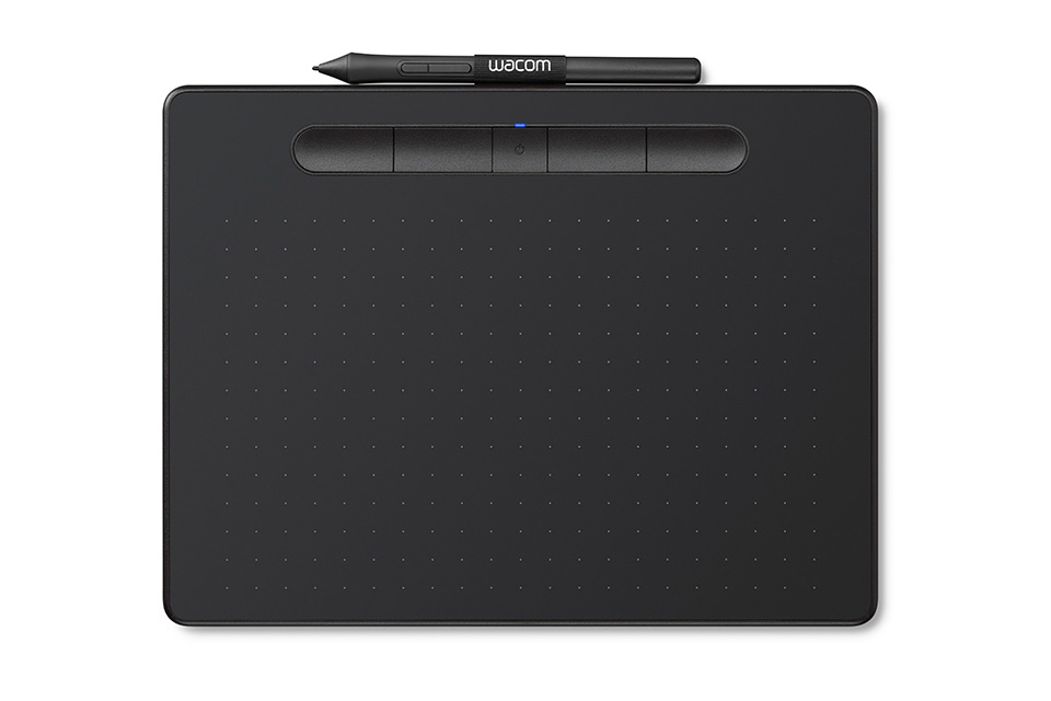 WACOM INTUOS MEDIUM BLUETOOTH TAV+PEN BK