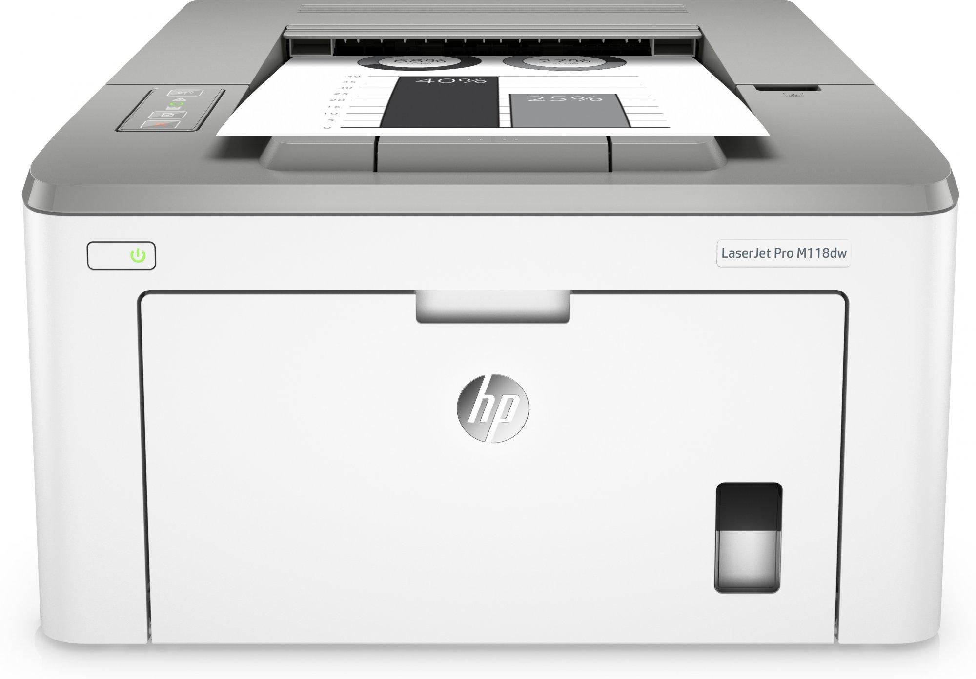 HP Stampante LaserJet Pro M118dw ^