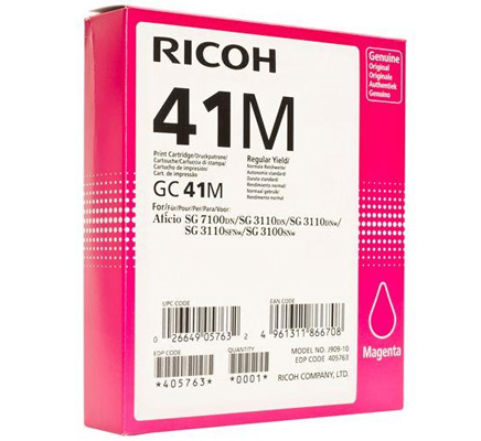RICOH RHGC41M 405763 INK GEL M -- .