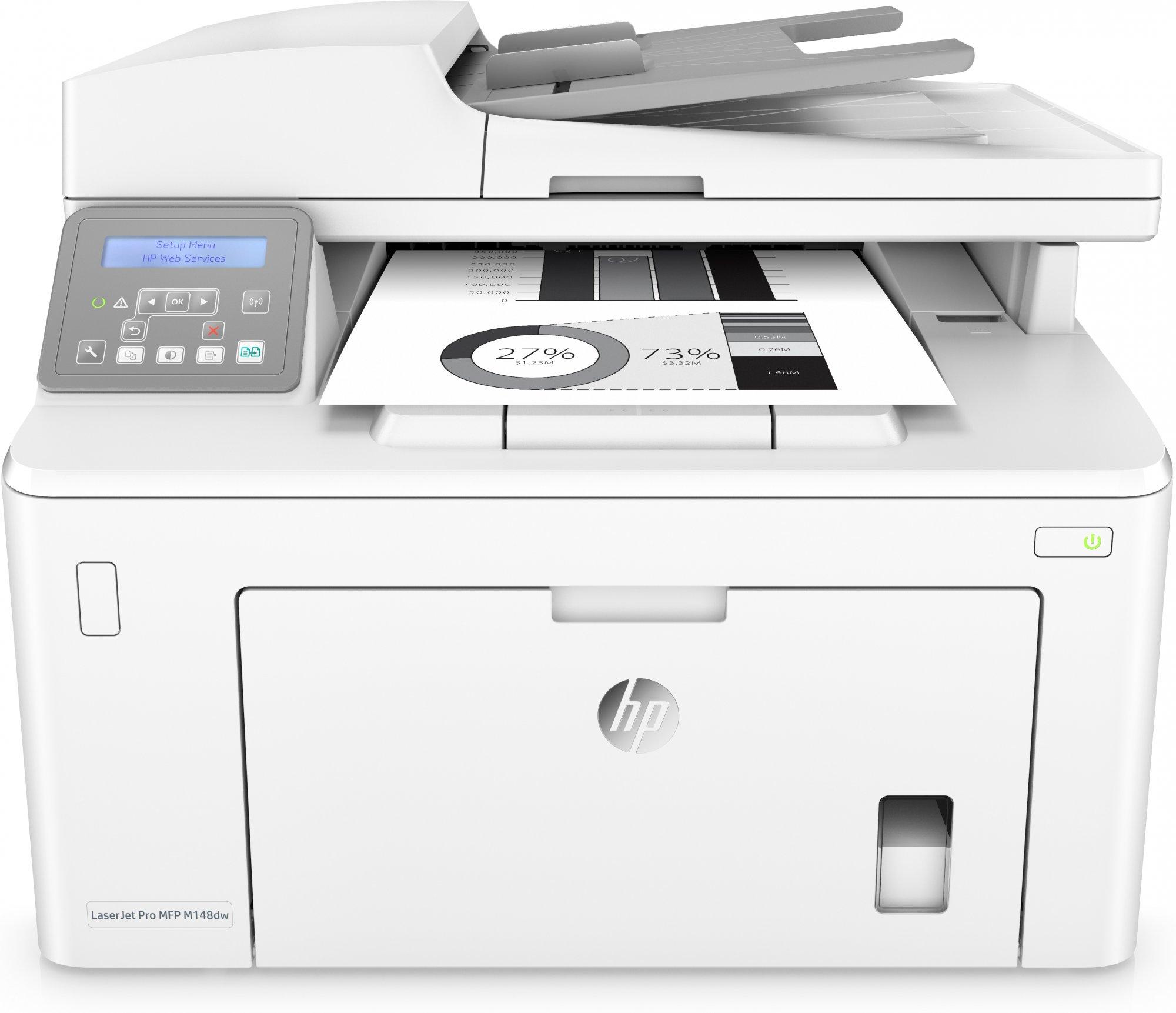 HP Multifunzione LaserJet Pro M148dw ^