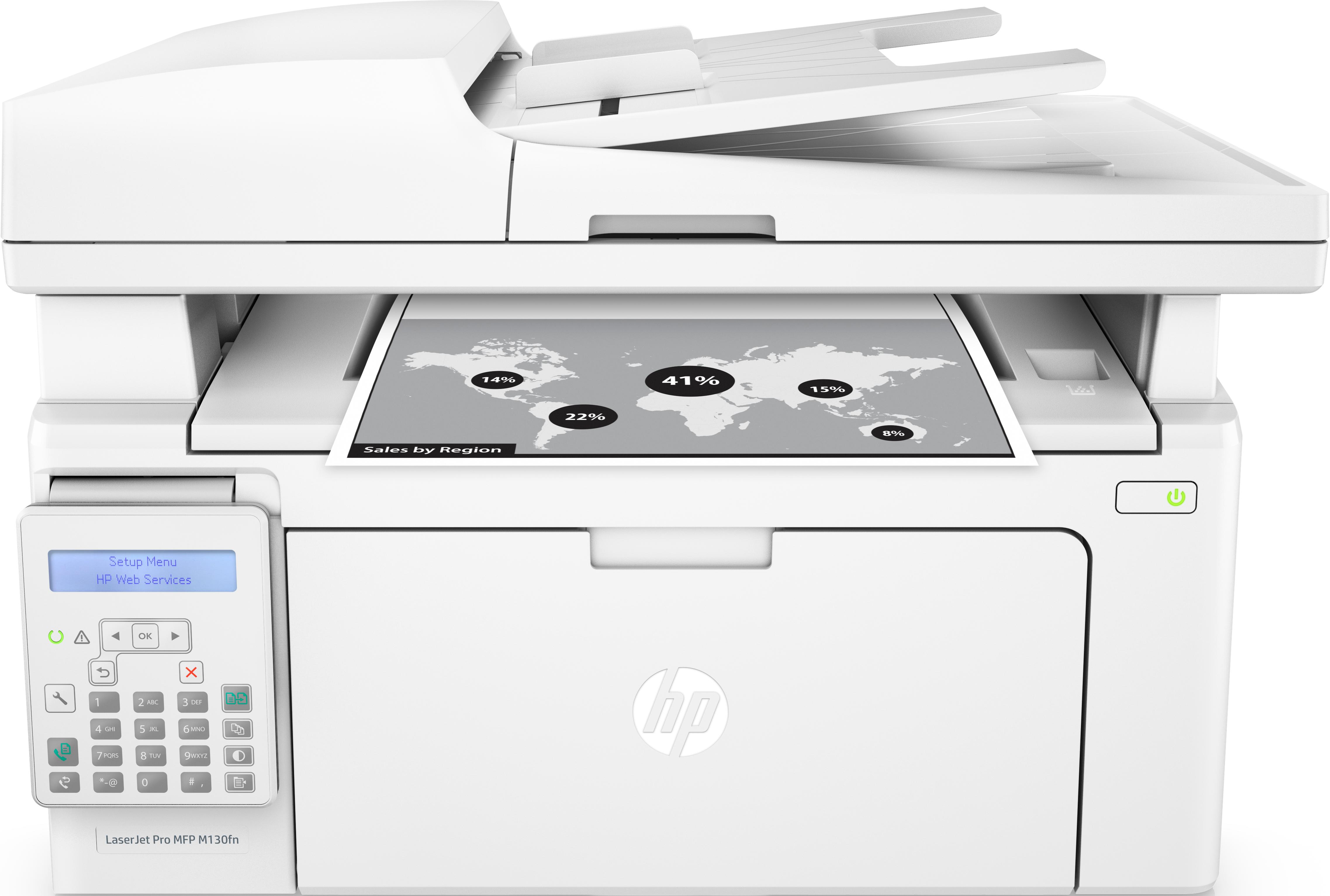 HP Multifunzione LaserJet Pro M130fn ^