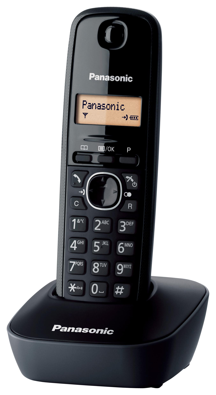 Panasonic Cordless KX-TG1611JTH Nero