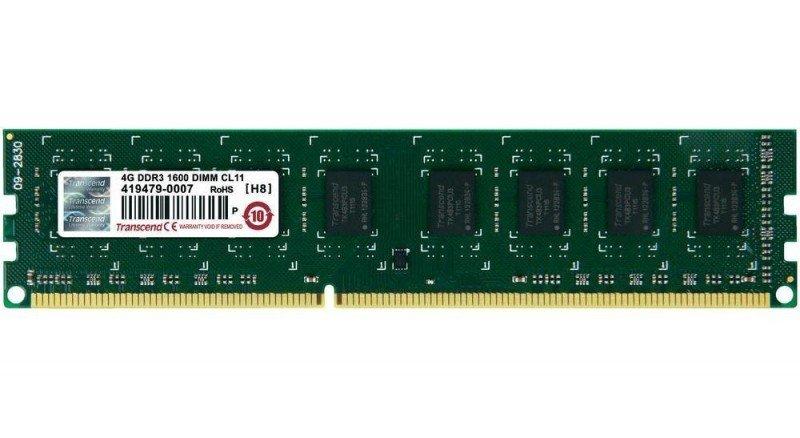 TRANSCEND DDR3 1600MHz 4GB DIMM