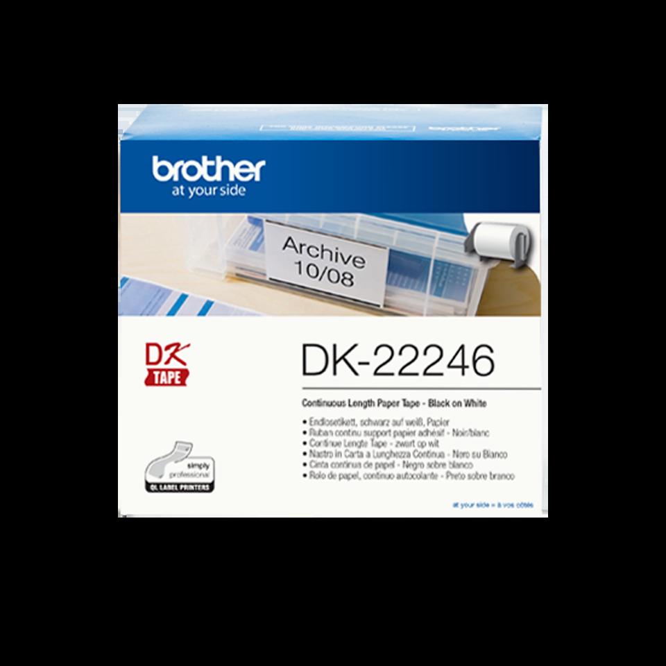 Brother Dk-22246 Dk Etichette Adesive#
