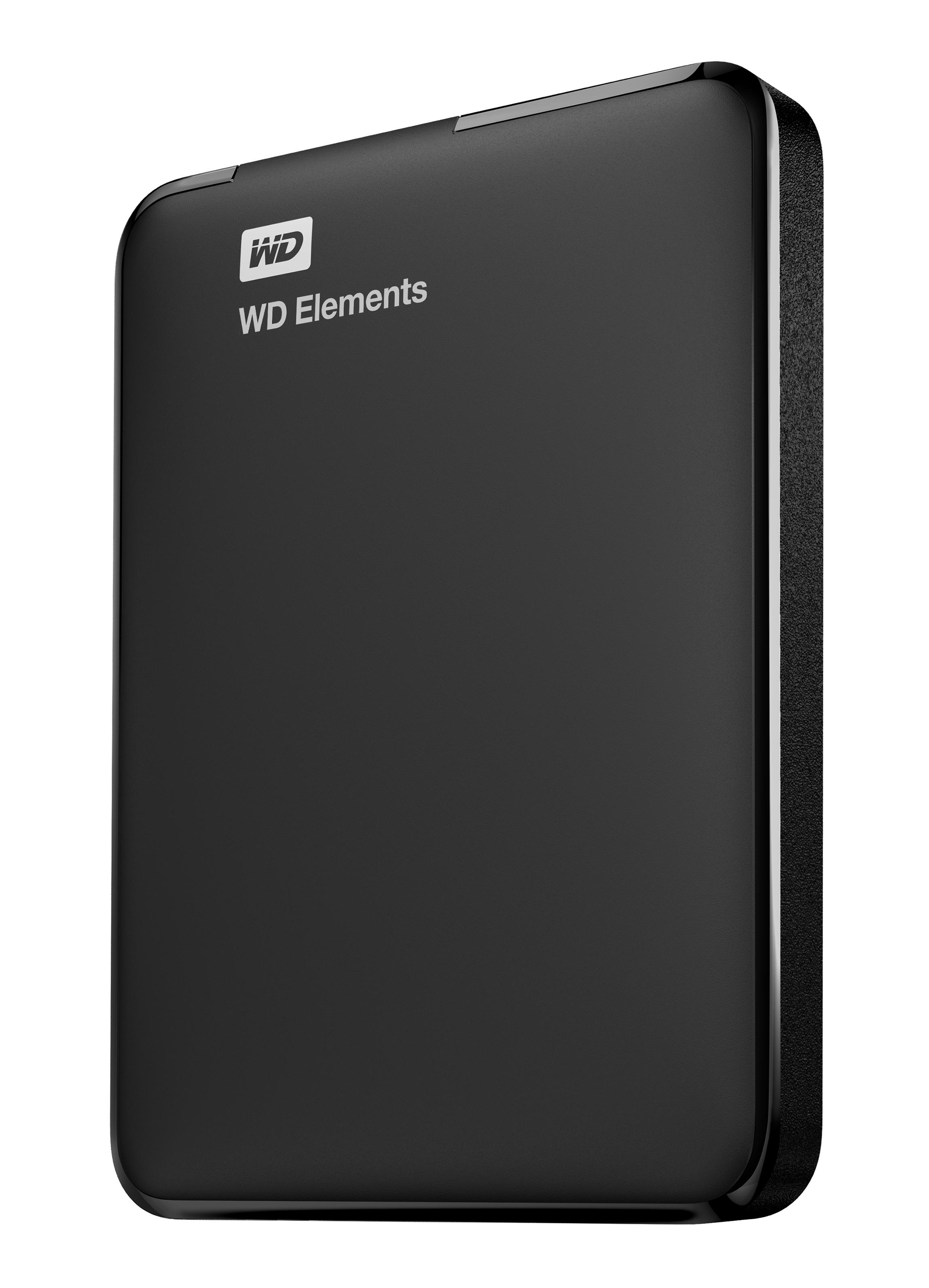 Western Digital Elements 2.5 1Tb Black