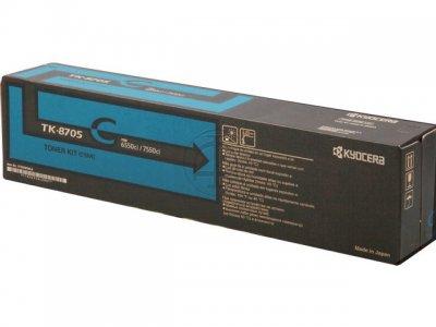 Kyocera Tk-8705c Toner Ciano (h)