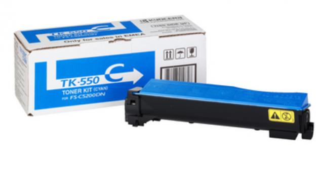 Kyocera Tk-550c Toner Ciano (d) #