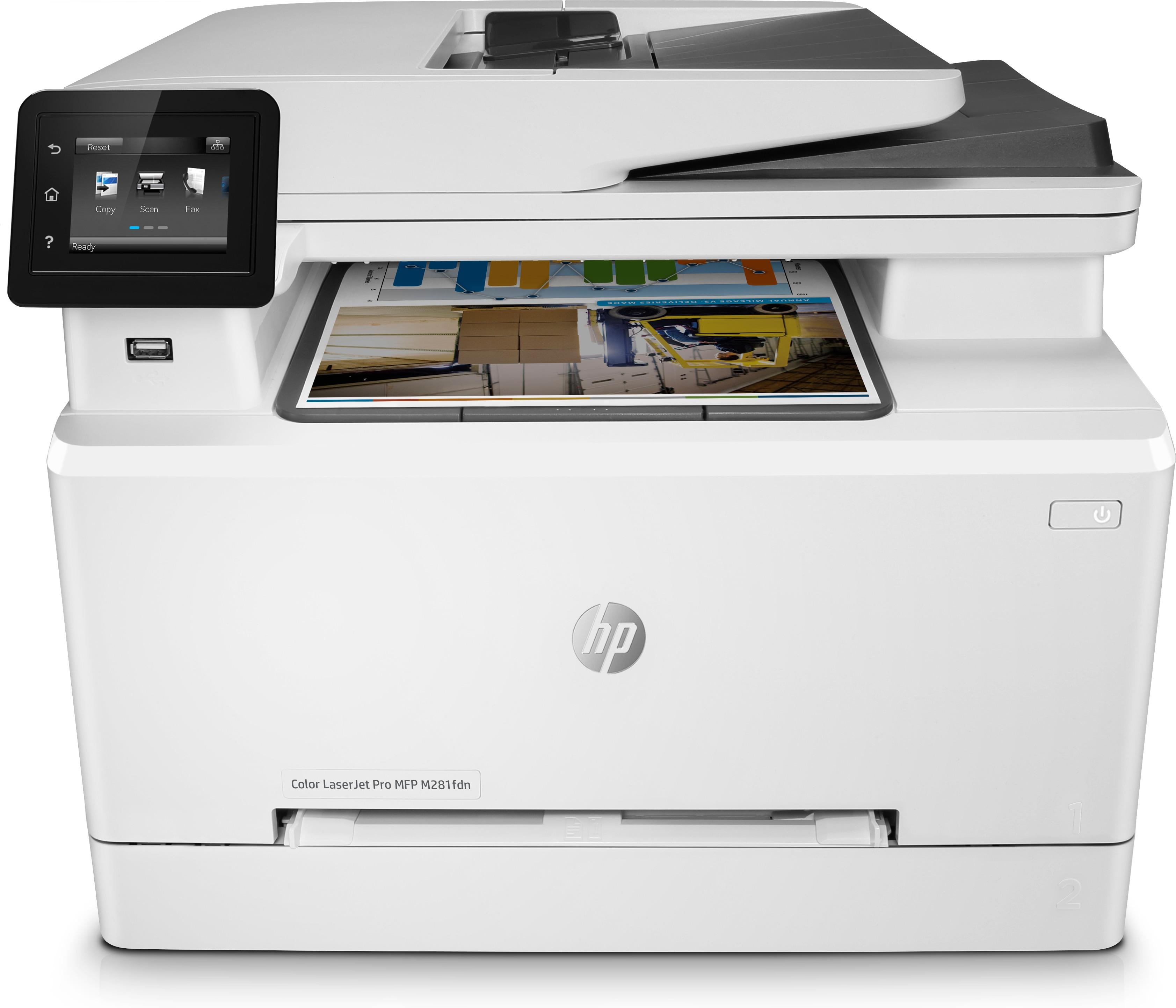 HP Multifunz.Color LaserJet Pro M281fdn^