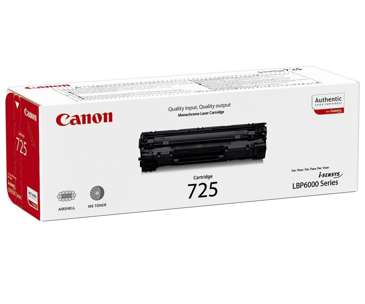Canon Crg 725 Toner Nero 1,6 (l)