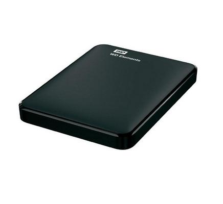 Western Digital Elem. 500Gb 2.5 Black
