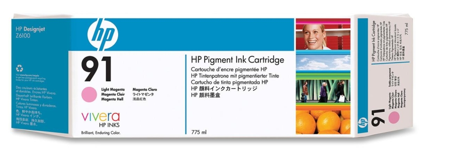 HP C9471A N91 INK JET MAGENTA CHIARO