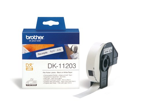 BROTHER DK-11203 ETICHETTE ADSV 300PZ