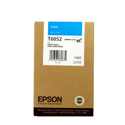 Epson Sp4800 T605200 Ink Jet Ciano (n)